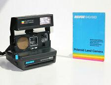 Polaroid 660 AF 600 mit GARANTIE Autofocus REVUE Sofortbildkamera blue button
