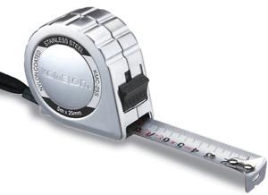 Komelon STAINLESS Tape Measure 5m x 25mm KMC-25S Metric kor