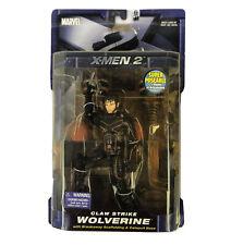 X-Men X2 United Movie Claw Strike Wolverine Marvel 6 Inch Brand New Toybiz