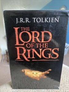 Tolkien Lord Of The Rings 7 Paperback Book Box Set 2001 Collins - 6 books unread
