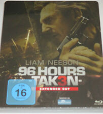 96 Hours - Taken 3 - Blu-ray/NEU/OVP/Action/Liam Neeson/Famke Janssen/Steelbook