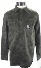 "QUICKSILVER Shirt/Overshirt "" LA Streets"" Military Green Black Camo Men's M $75"