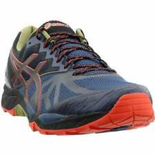 ASICS GEL-Fujitrabuco 6 Men's Running Shoes -  Insignia Blue/Black/Red Clay, US 9.5