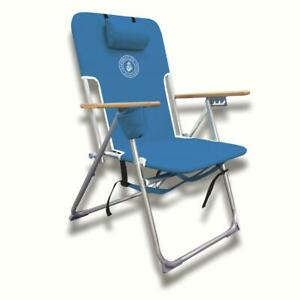 Tommy Bahama Type Hi-Boy Lounge Outdoor Recliner Patio Pool Deck Beach Chair NEW