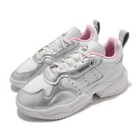 adidas Originals Supercourt RX W Crystal White Pink Silver Women Casual FV3671