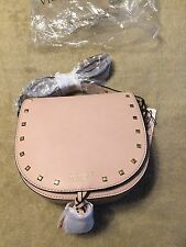 Victoria's Secret Boho Crossbody Strap Bag Light Pink With Fringe Detail New