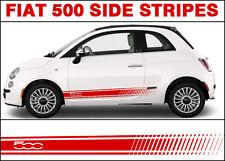 Fiat 500 500c Raya Lateral Gráficos Adhesivos Gráficos Abarth Estilo Premium