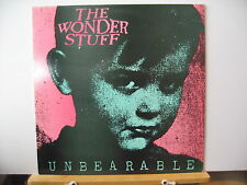 "THE WONDER STUFF Unbearable FAR OUT RECORDING GO BIG 002 12"" VINYL Free UK Post"