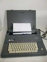 SMITH CORONA SL 480 ELECTRIC TYPEWRITER w/ COVER MODEL 5A - WORKS