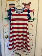 New listing LuLaRoe Jessie ~ 2Xl ~ American Flag ~ Nwot! Mis-labeled! Fits Like a Medium!