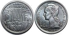 Réunion 2 francs 1948 Unc !!! SPL