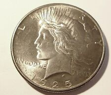 1925 PEACE SILVER RARE GEM MS+ Beauty!! Add to your PEACE SET!  LOOK! SILVER!