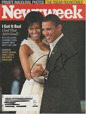 Barack Obama authentic signed autographed Newsweek magazine Coa