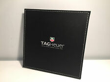Instructions - Cover Leather documentation Black Leather Cover for Tag Heuer