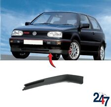 NEW VW GOLF MK3 1991-1999 FRONT BUMPER GTI GT VR6 LIP SPOILER LEFT SIDE N/S