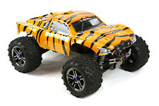 Custom Body Tiger Style for Traxxas T / E Maxx Shell Cover 3911R E-Maxx