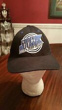Old Navy Coney Island Silver Rockets Ball Cap in Black Men Size S/M New