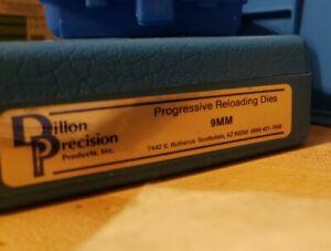 """Dillon Precision 9mm die set vintage 1990""""s carbide sizing die 3 set 450 650 550"""