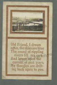 Cloquet MINNESOTA RPPC 1911 NORTHWEST PAPER CO. Plant Mill Logging nr Duluth