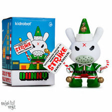 "Holiday Grumpy Elf 3"" Dunny by Kozik - Kidrobot Brand New Sealed Figure"