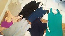 Lot NWT 5 ladies tank tops camisoles Wacoal Ann taylor DKNY + XS used J.Crew