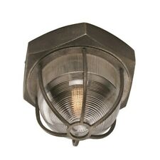 Troy Lighting Acme 1 Light Large Flush Mount, Aged Silver - C3891