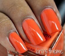 NEW! Deborah Lippmann LARA'S THEME Polish Lacquer - full size hot orange
