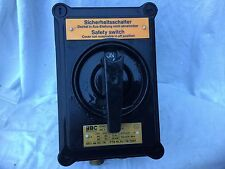BBC GHG 263 3732V 600 V 40 A Safety Switch Sicherheitsschalter