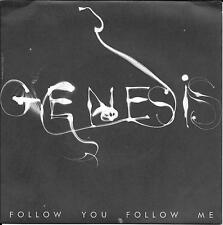"45 TOURS / 7"" SINGLE--GENESIS--FOLLOW YOU FOLLOW ME / BALLAD OF BIG--1978"