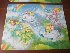 Care Bears Puzzle and poster - Vintage