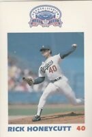 FREE SHIPPING-MINT-1987 LA POLICE DEPT #40 RICK HONEYCUTT-DODGERS