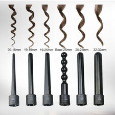 Durable 6 in 1 Ceramic Hair Curler Interchangeable Iron Curling Wand Roller Set