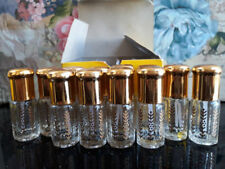 3ml Empty Glass Perfume Bottles for Oils / Attar Stick 3x Box X 36 Bottlesl