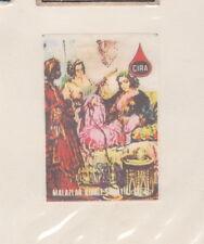 Ancienne étiquette  Allumettes   BN22629 Femme