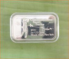 "RARE !! 1 oz .999 silver ""ENGELHARD SPORT: GOLF GAME"" 5,000 Mintage Bar H164"