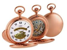 Woodford Rose Limited Edition Rose Gold Plated FLYING SCOTSMAN Pocket Watch.