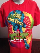 Abbey Road On The River Vintage Tshirt Beatles Inspired Music Festival Large