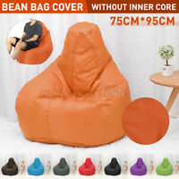 Extra Large Bean Bag Chairs Adults Couch Sofa Cover Lazy Lounger Cover Indoor