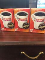 Dunkin' Donuts K Cups - Original Blend - 10ct -  Pack of 3 Exp January 2020