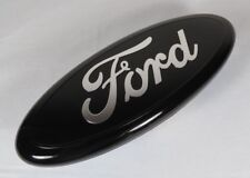 "FORD F150 9"" BLACK EMBLEM FRONT GRILLE/REAR TAILGATE BADGE sign symbol logo name"