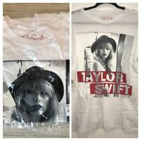 Taylor Swift The Red Tour Concert Womens White T-Shirt Size Medium NWT