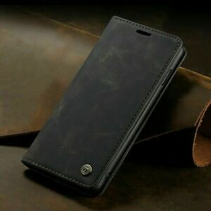 Luxury Genuine CaseMe Magnetic Leather Wallet Case Cover For Samsung Galaxy S10
