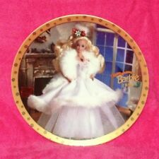 Enesco Barbie Collectors Plate Happy Holidays Barbie 1989 Limited Edition #5503