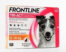 Frontline Tri-Act Fleas Tick Lice Treatment Dog 5/10kg (11/22lb)