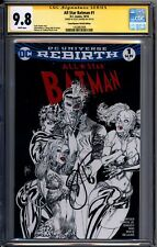 All Star Batman 1 ComicXposure Sketch Edition March CGC SS 9.8 Scott Snyder