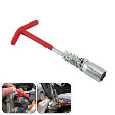 16mm Car Spark Plug Removal Tool T-Bar Flexible Spanner Socket Wrench Universal