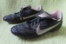 6Y NIKE Black Silver SOCCER CLEATS Shoes Sz Youth Boys 6 Y Sports Ball Team