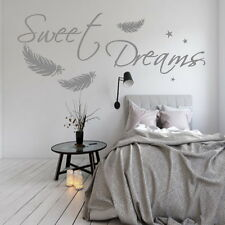 Wandtattoo AA308 Schlafzimmer Sweet Dreams Wandaufkleber Wand Tattoo Sterne