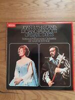 Joan Sutherland, Luciano Pavarotti, Richard Bonynge - Operatic Duets, LP