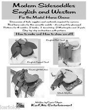 Modern Side Saddles for the Model Horse Arena Pattern Book